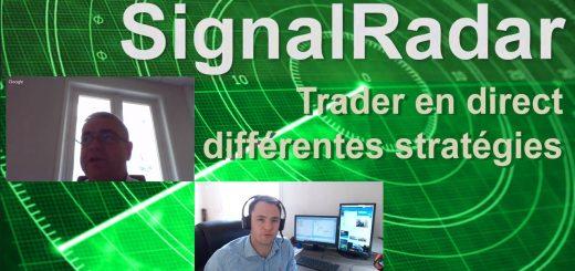 Live Trading avec SignalRadar, le nouvel Outil / Screener développé par WH SelfInvest