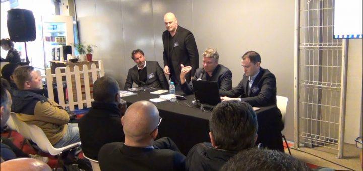 Salon AT 2018 - JDH Editions - Interview : Stéphane CEAUX-DUTHEIL, Jérôme MANGIN et Benoist ROUSSEAU