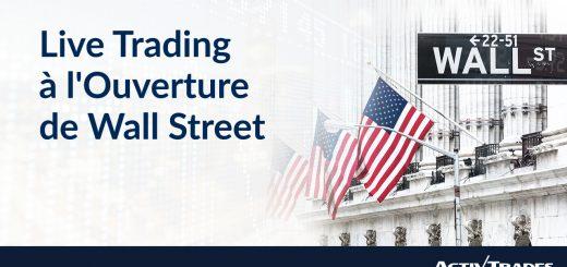 Live Trading à l'Ouverture de Wall Street. Drivers : JUNCKER / TRUMP, Réunion BCE, Résultats