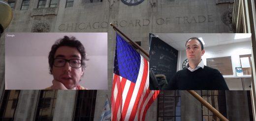 Live avec Olivier AUBERGER, Trader Français membre à la Bourse de Chicago