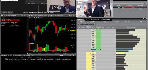 Live avec LYNX Broker : Session de Questions / Réponses avec Chrislain TSHIAMANGA