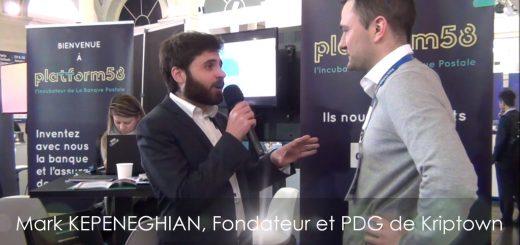 """Paris Fintech Forum 2019 - Interview Mark KEPENEGHIAN, PDG de Kriptown : """"Succès de la Première ITO"""""""