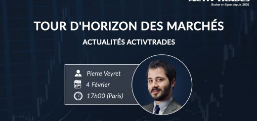 #Trading Insights, Pierre VEYRET, ActivTrades : #ActivTrader, Pétrole, Indices Actions, #FED...