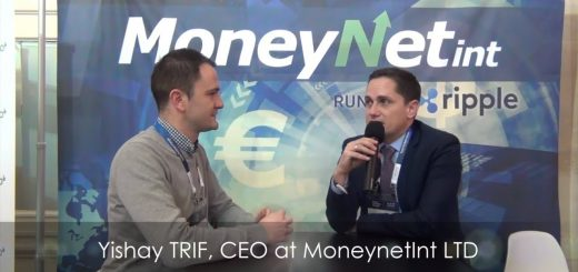Paris Fintech Forum 2019 - Interview with Yishay TRIF, CEO at MoneyNetInt, member of RippleNet