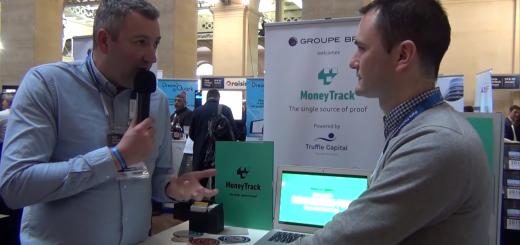 Paris Fintech Forum 2019 - Interview de Christophe DORE, PDG de MoneyTrack