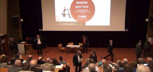 """Le Grand Débat National des Think Tanks du Numérique : """"La Mobilité"""" par Bertrand Petit, Innocherche"""