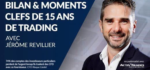 Bilan & Moments Clefs de 15 ans de Trading avec Jérôme REVILLIER avant sa Dernière Formation