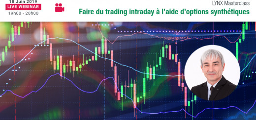 Faire du Trading Intraday à l'aide d'Options Synthétiques 📈☔️ LYNX Masterclass - Philippe LHERMIE