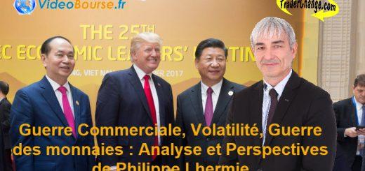 Guerre Commerciale💹 Volatilité📉 Guerre des Monnaies💱 Analyse et Perspectives de Philippe LHERMIE